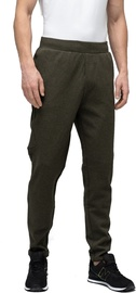 Audimas Cotton Tapered Fit Sweatpants Olive 176/S