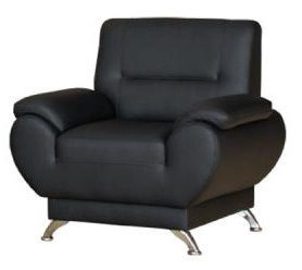 Kanclers Livonia Armchair Eco Leather Black