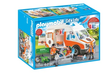 Constructor playmobil city life 70049