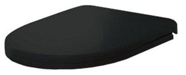 Sanita Best WC Seat Cover Soft Close Black
