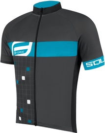 Force Square Jersey Grey/Blue XS