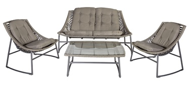 Home4you Celje Garden Furniture Set Grey