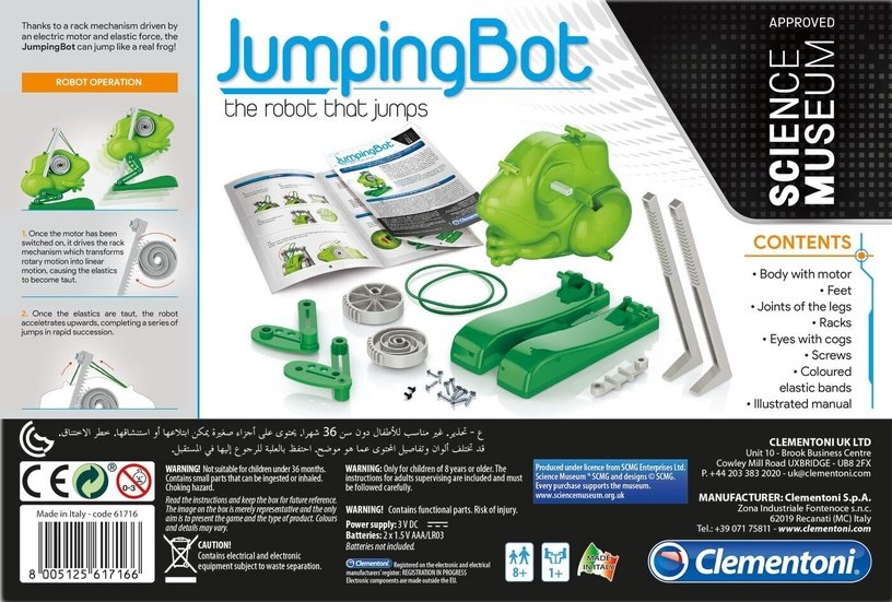 Игрушечный робот Clementoni JumpingBot