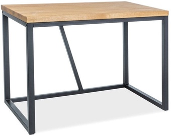 Signal Meble Table Silvio Oak/Black