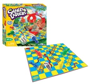 Stalo žaidimas FunVille Game Time Snakes & Ladders 61151