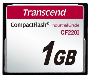 Transcend 1GB Industrial Temp CF220I CF Card
