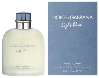 Tualetes ūdens Dolce & Gabbana Light Blue Pour Homme 200ml EDT