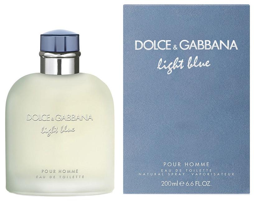 Tualetes ūdens Dolce & Gabbana Light Blue Pour Homme 200ml EDT