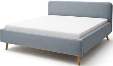 Кровать Meise Möbel Mattis, голубой, 200x140 см