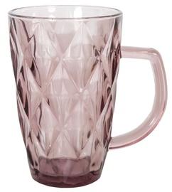Home4you Coral Glass Mug 300ml Purple