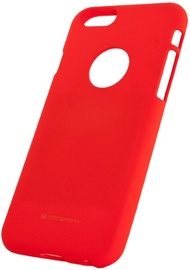 Mercury Soft Surface Matte Back Case For Huawei P20 Red