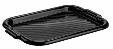 Galicja Plastic Tray Black 40x28cm