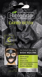 Bielenda Carbo Detox Purifying Mask 8g Mixed & Oily Skin