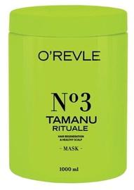 Kaukė plaukams O'Revle Tamanu Rituale No3 Regenerating And Moisturing Mask, 1000 ml