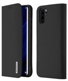 Dux Ducis Wish Bookcase For Huawei P30 Pro Black