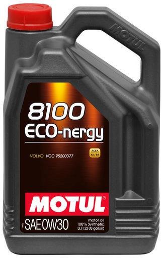 Motul 8100 Eco-Nergy 0W30 Motor Oil 5l