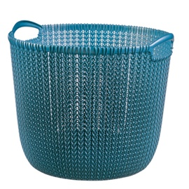 Curver Knit Round L Dark Blue