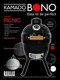 Kepsninė Kamado BONO picnic 32 cm, juodas