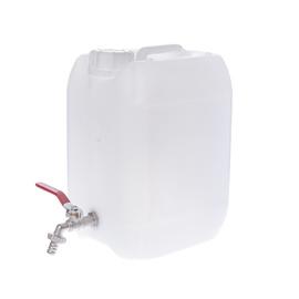 Plastikinis maistinis bakelis su čiaupu, 20 l