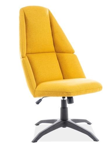 Fotelis Signal Meble Protos Yellow, 62x47x109 cm
