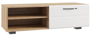 MN Asti ATB 1150.1 TV Stand White/Oak