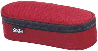 Herlitz Pencil Pouch Oval Red/11402609