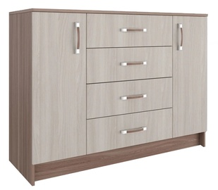 DSV Ronda KMR1200.1 Chest Of Drawers Light/Dark Ash Shimo