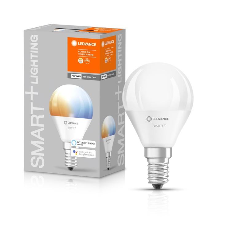 Viedā spuldze Ledvance LED, E14, P45, 5 W, 470 lm, 2700 - 6500 °K, daudzkrāsaina, 1 gab.