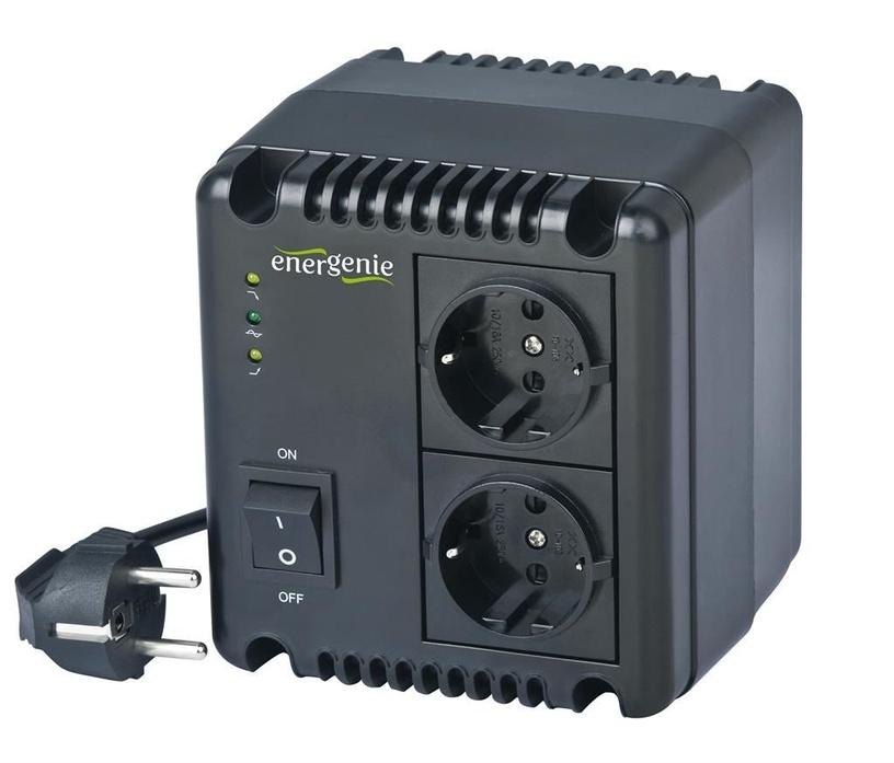 Стабилизатор напряжения (Surge Protector) Energenie Automatic AC Voltage Regulator and Stabilizer EG-AVR-1001