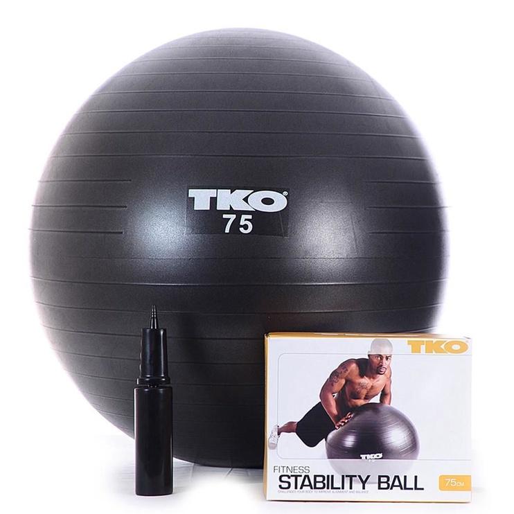 TKO Fitness Ball 75cm Black