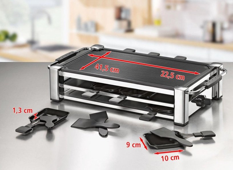 Elektrinis grilis Rommelsbacher Raclette RCC 1500