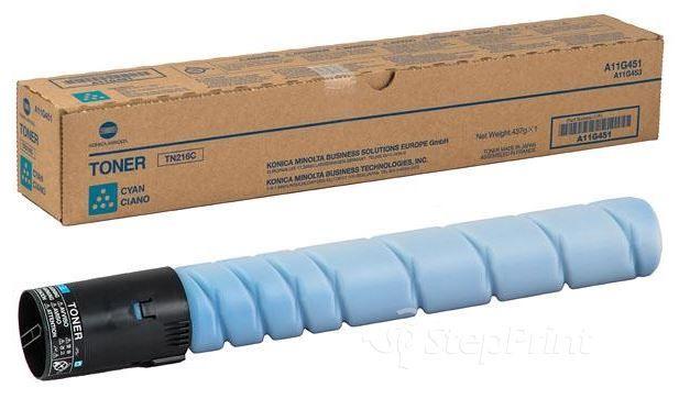 Lazerinio spausdintuvo kasetė Konica Minolta TN-216C Toner Cartridge Cyan