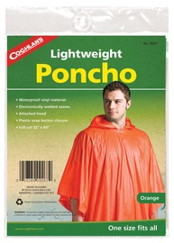 Coghlans Lightveight Poncho Orange