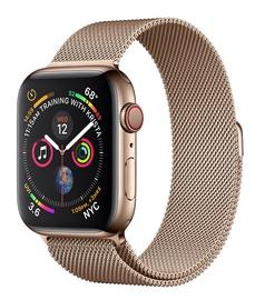 Apple Watch Series 4 44mm Cellular Stainless Steel Gold Loop