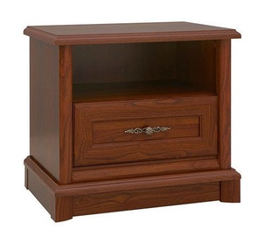 Black Red White Kent Night Stand Chestnut