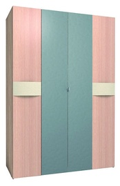 Glazov Ameli 555 Wardrobe w/ Mirror Light Oak