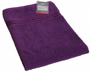 Verners Frotee Wick Pattern 50x100cm Violet