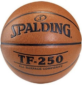 Spalding NBA TF-250 Basketball Brown Size 6