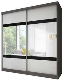 Idzczak Meble Wardrobe Multi 2 233 Graphite/White