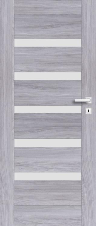 Полотно межкомнатной двери PerfectDoor FRESNO 01, серый, 203.5 см x 64.4 см x 4 см