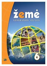 Geografijos atlasas Žemė 6 klasei
