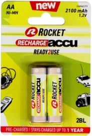 Rocket Recharge Accu HR03 AA 2pcs