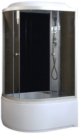 Gotland Massage Shower Left 1200x800x2150mm