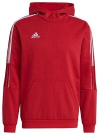 Adidas Tiro 21 Sweat Hoodie GM7353 Red M