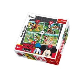 Pusle Trefl, Minnie, 4 in 1