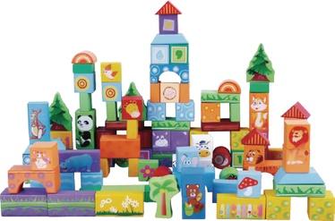 Izglītojošās rotaļlietas EcoToys Educational Animals, 100 gab.