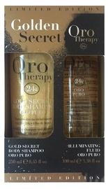 Набор для женщин Fanola Golden Secret Gold Therapy Body Shampoo Set 250ml + 100ml Illuminating Fluid