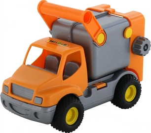 Wader ConsTruck Refuse Lorry Orange 0414