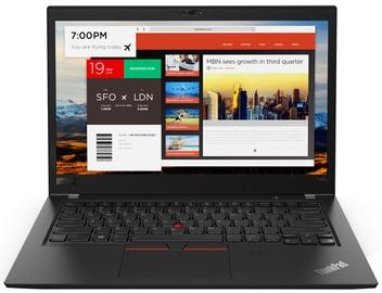 Nešiojamas kompiuteris Lenovo ThinkPad T480S 20L7001PPB