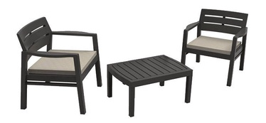 Progarden Lombok Garden Furniture Set Anthracite